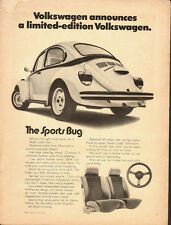 1973 Vintage ad for Volkswagen~The Sports Bug (081013)