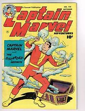 """Captain Marvel Adventures #124 ~ """"The Discarded Instincts"""" 1951 (5.5) WH"""