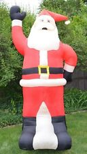 GEMMY Christmas SANTA CLAUS 8 Foot Lighted Airblown Yard Inflatable