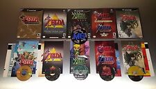 The Legend of Zelda: Complete Nintendo Gamecube 5 Game Lot ☆☆ Tested, VG ☆☆