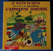 *** FILM SUPER 8 COULEUR/SON 60 METRES - WALT DISNEY - L'APPRENTIE SORCIERE ***