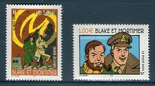 TIMBRES 3669-3670 NEUF XX LUXE - BLAKE ET MORTIMER - BANDE DESSINEE