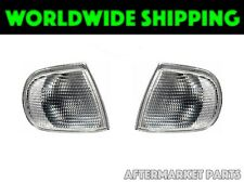 FRONT INDICATORS White SKODA Felicia 6U and Pickup 95-01 Left + Right PAIR