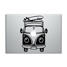 "Macbook Aufkleber Sticker Decal skin Air Pro 11"" 13"" 15"" VW bulli camper bus v4"
