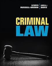 NEW - Criminal Law by Russell-Brown, Katheryn; Davis, Angela J.