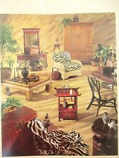 Ficks Reed Rattan Wicker Bamboo Furniture Catalog with prices Palm Beach Regency