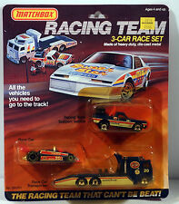 DTE 1985 CARD 3 PC. MATCHBOX STP RACE TEAM CONVOY GIFT SET NIOP