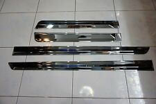 FORD EVEREST 2016 CHROME SIDE DOORS BODY MOULDING TRIMS SET OF 4 INSTALL WITH 3M