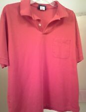 Men's Puritan Red Polo Pullover Shirt (Size L)