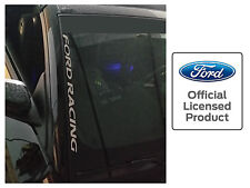 FORD RACING MUSTANG WINDSHIELD SIDE DECAL FORD LICENSED STICKER GRAPHICS