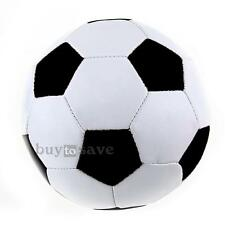 Pupils Children Football Soccer PU Leather Lined Match Training Ball Size 3