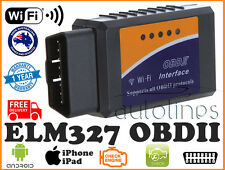 ELM327 OBDII OBD2 WiFi Car Diagnostic Scanner Tool iPhone Android For ALFA ROMEO