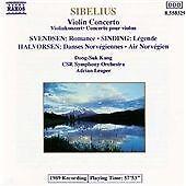 Brand New SEALED Naxos CD - Sibelius : Violin Concerto