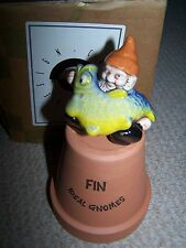 Cardew Gnome on Plant Pot-New