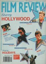 FILM REVIEW MAGAZINE  FEBRUARY 1990  SYLVESTER STALLONE  MICHAEL DOUGLAS    LS