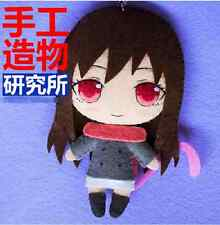 Japanese Anime Noragami Iki Hiyori Cosplay Costume DIY Kits  toy Doll keychain