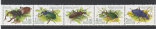 Russia 2003 Beetles/Insects/Nature/Conservation 5v strip (n10922)