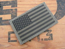 "SNAKE PATCH - "" USA "" OD basse visu 50 étoiles écusson US ARMY NAVY AIR FORCE BV"