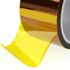 5mm 100ft Gold High Temperature Heat Resistant Kapton Tape Polyimide Gigt