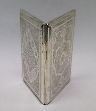 Vintage Persian Islamic Silver Cigarette Case 146g