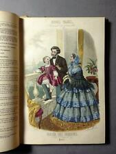 Modes Vraies, French Fashion, 23 coloured plates, 1856