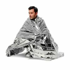 Mylar Emergency Space Blanket Tactical Survival Rescue Military Solar Bag