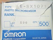 EE-SX1071 OMRON PHOTOMICROSENS TRANSISTOR OPTICAL SWITCHES