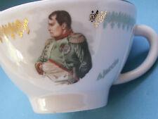 Tasse à café porcelaine effigie de Napoléon