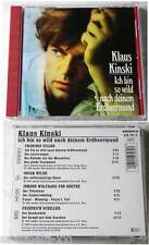 Klaus Kinski - Ich bin so wild nach... 90 Amadeo CD TOP