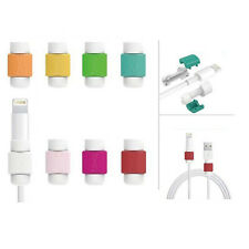 4pcs Data Line USB Cable Earphone Cord Saver Protection Cover for Iphone Ipod