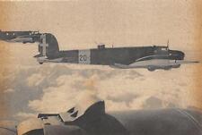 """A950) WW2 AVIAZIONE, AEREO """"CICOGNA"""" FIAT BR. 20 DA BOMBARDAMENTO."""