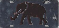 UNIVERSITY OF ALABAMA  ACRYLIC DIE CUT CRIMSON ELEPHANT LICENSE PLATE   NEW SEAL