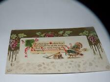ANTIQUE POSTCARD THANKSGIVING HERMAN And when your work is done let naught be
