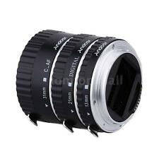Metal TTL Auto Focus AF Macro Extension Tube Ring for Canon EOS EF EF-S 60D IW2Z