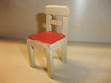 a Puppenstube Kaufmannsladen Möbel Küchenmöbel alt Stuhl Küchenstuhl Bauernstuhl