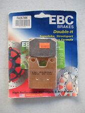 NEW OLD STOCK EBC FA267HH DOUBLE-H SINTERED METAL BRAKE PADS (610602)