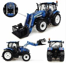 New Holland T6.145 With 740 TL Loader Tractor 1:32 Model 4956 UNIVERSAL HOBBIES