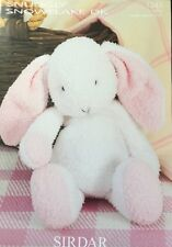 Long Eared Toy Rabbit Toy Animal Knitting Pattern