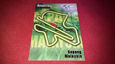 Card Panini da collezione MOTO GP 2004 Circuits SEPANG MALAYSIA