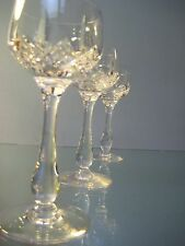 High Quality Crystal Cocktail Glasses - Set of 3
