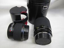 TOKINA AT-X MACRO 90mm 1:25 55 For Nikon w/ Extender Made in Japan Camera Lens