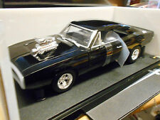 DODGE Charger Dom Toretto 1970 Fast & Furious 2001 BLACK Muscle v8 HERIT HW 1:18