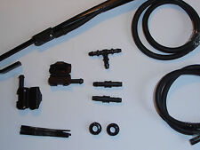 Windscreen Washer Jets Universal Conversion Kit ( bonnet/scuttle to Wiper Arms)