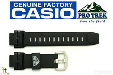 CASIO Pathfinder Protrek PRG-250 Original 18mm Black Rubber Watch Band PRG-510