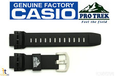 CASIO Pathfinder Protrek PRW-2500 18mm Black Rubber Watch Band PRW-5100