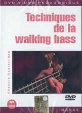 DARIZCUREN FRANCIS TECHNIQUES DE LA WALKING BASS BGUITAR  MUSIQUE DVD FRENCH