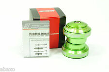 FSA Orbit MX Threadless 1-1/8 Headset Green