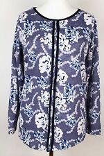 NEW WOMEN  TUNIC BLOUSE size 16/18 TOP  LONG SLEEVE  LADIES    6717