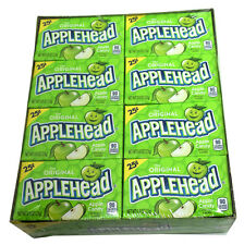 APPLEHEAD CANDY 24ct Box, Original Apple Heads 0.8oz packs. FREE SHIPPING!!!