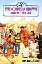 Encyclopedia Brown Solves Them All-ExLibrary